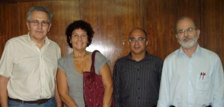 From right to left: Hélio Ricardo and Sanderson Pereira, M&D, and Laura Cabral e Branko Bajic, Korto